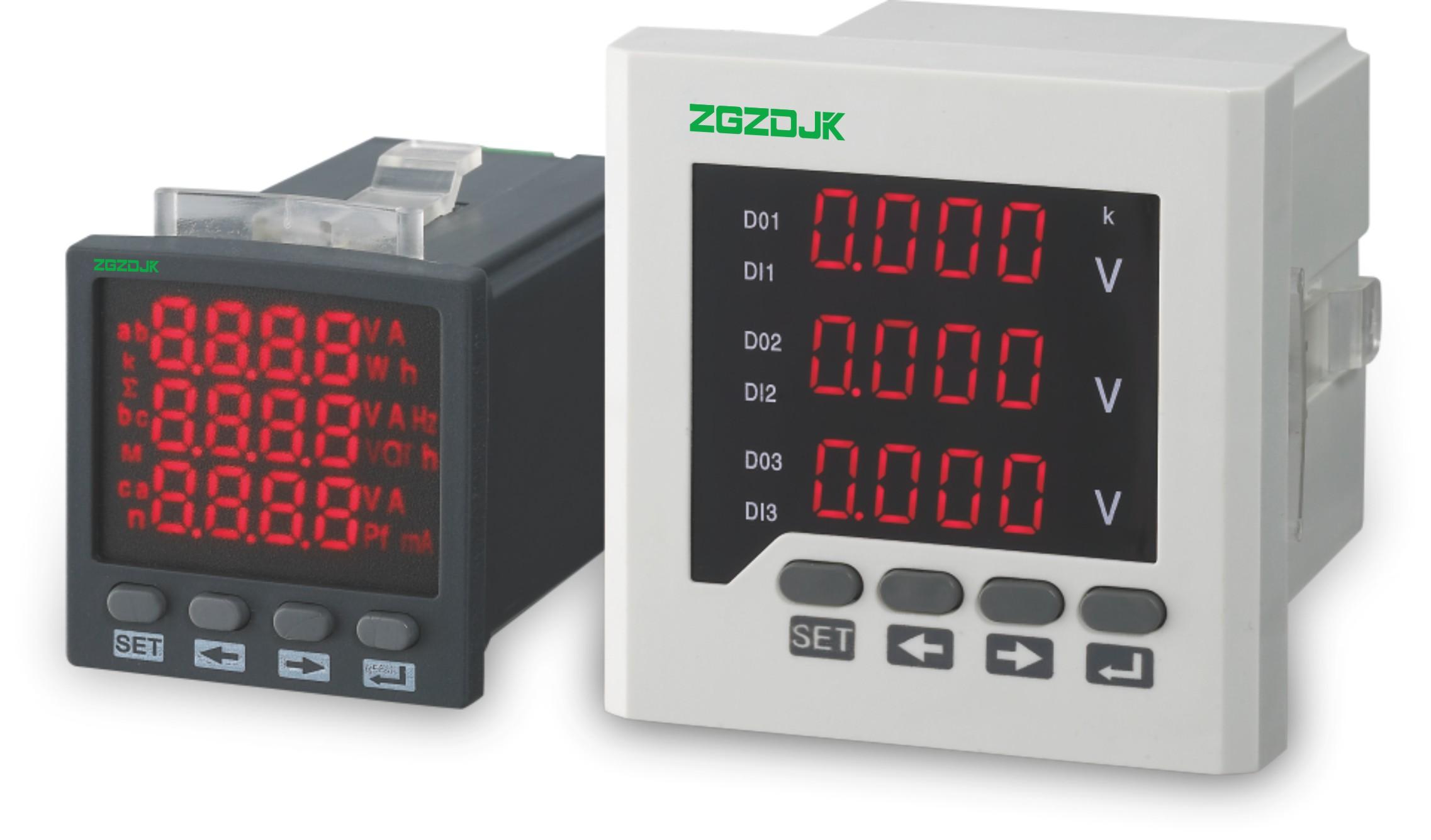 ZPM192-A/V系列数显三相电流电压表